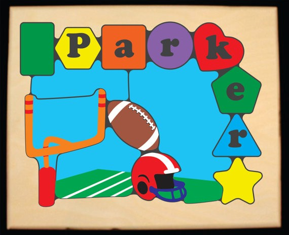 Personalized Baseball Puzzle