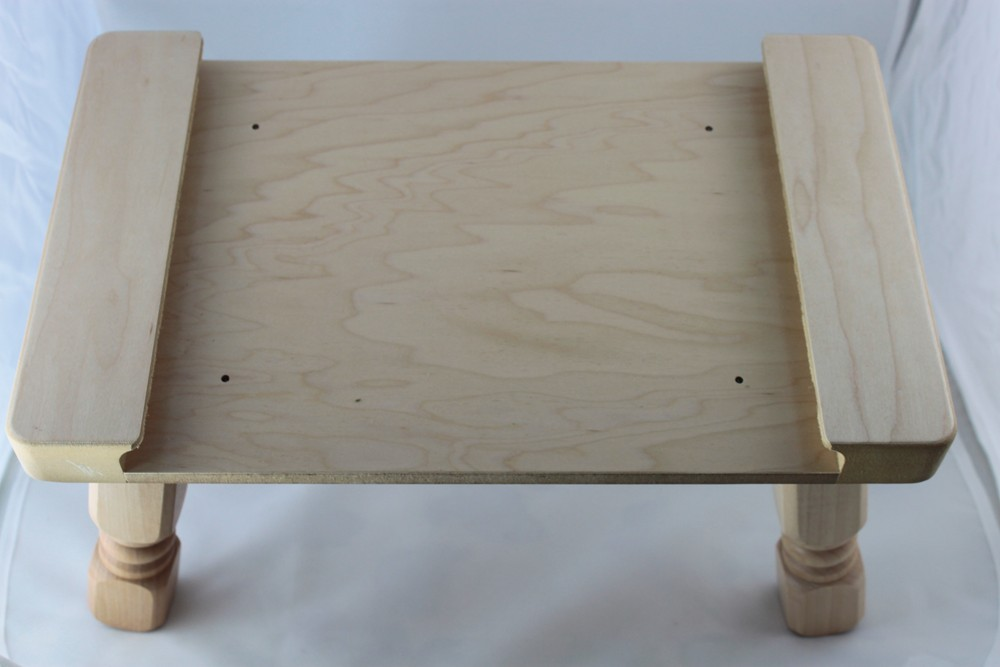 If you have one of our puzzles!  Now you can order the Stool Top and Legs and make it into a Puzzle Stool (FREE SHIPPING)